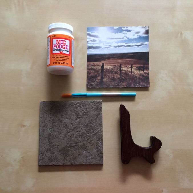 DIY Picture Tile Supplies