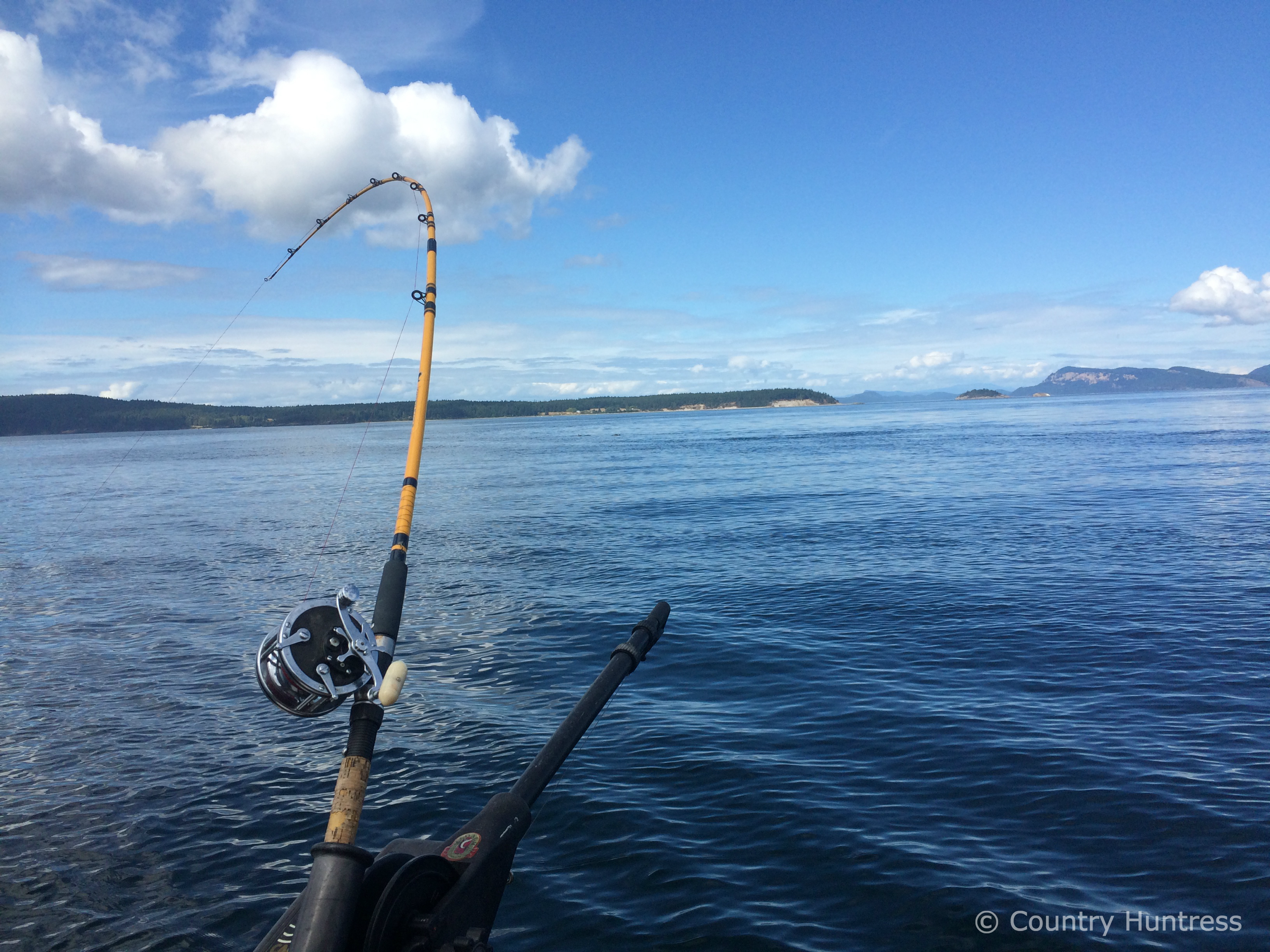 Salmon fishing in the san juans country huntress for Fishing san juan islands