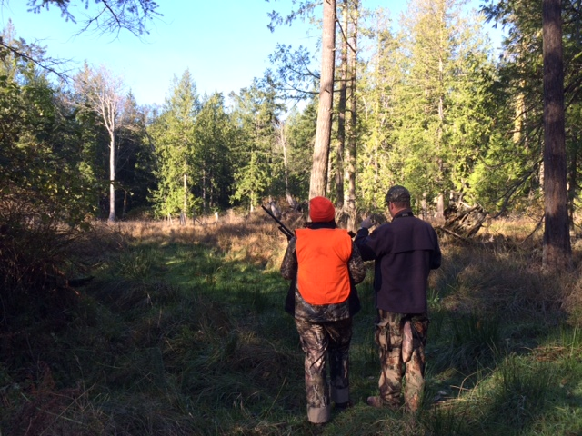 country huntress deer hunting