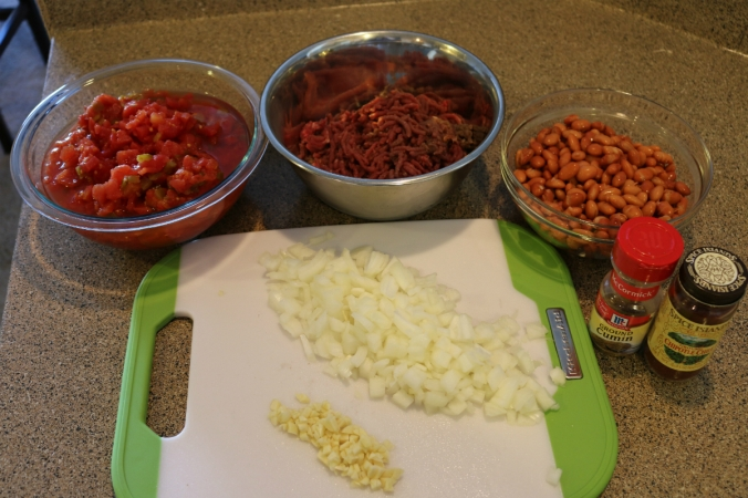 Country Huntress Venison Chili Ingredients